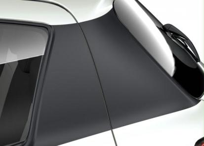 Galinio statramsčio apdailos lipdukai, juodos spalvos