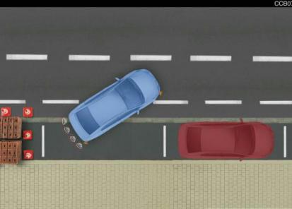 """""""Toyota"""" pagalbinė parkavimo sistema (gale)"""