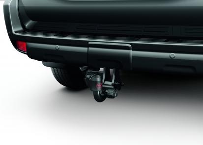 Vilkimo įtaisas Toyota originalus (horizontalus nuimamas, su elektros prijungimo rinkiniu 7 polių)