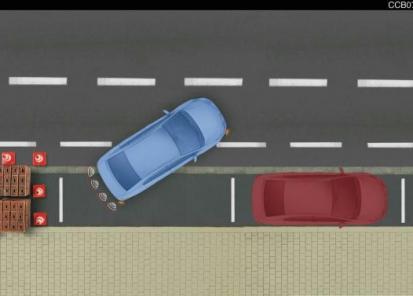 Parkavimo sistema gale