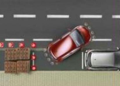 """""""Toyota"""" pagalbinė parkavimo sistema (priekyje)"""