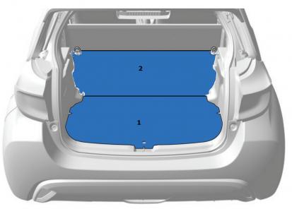 Grindys 2vnt (Modifikacijos komplektas į N1 krovininę versiją)