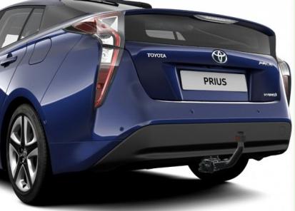 Vilkimo įtaisas Toyota originalus (nuimamas, su elektros prijungimo rinkiniu 7 polių)