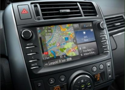 Navigacijos sistema nuo
