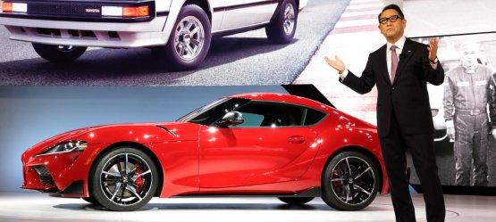 """""""Toyota"""" prezidentas Akio Toyoda pelnė """"Automobilių pasaulio 2021 metų žmogaus"""" titulą"""